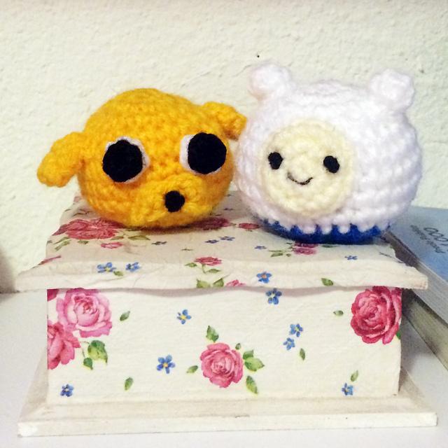 Ravelry: Amigurumi Finn y Jake Adventure time pattern by Javiera ...