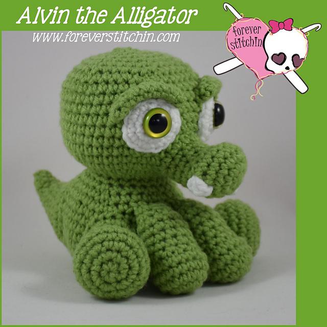 Ravelry Alligator Amigurumi Alvin Pattern By Forever Stitchin