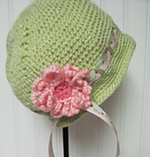 Ravelry: Little Girl's Hat and Bag Crochet pattern by Jean ...
