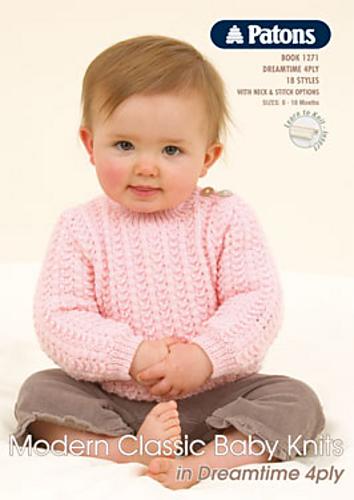 Ravelry Patons 1271 Modern Classic Baby Knits Patterns