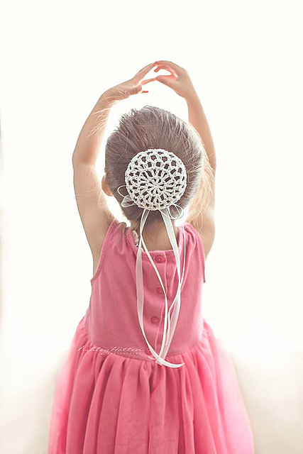 Ravelry Ballerina Bun Cover Pattern By Crochet By Jennifer