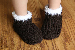 Ravelry Kids Chunky Slippers Pattern By Crochet By Jennifer
