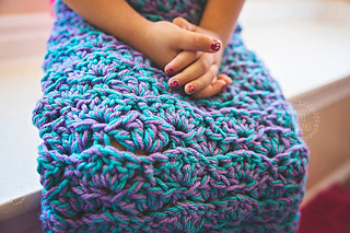 Ravelry Mermaid Tail Blanket Pattern By Crochet By Jennifer