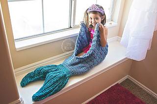 Ravelry Mermaid Tail Blanket Pattern By Crochet By Jennifer