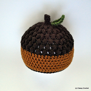 9ca7174dcb2 Ravelry  Classy Crochet Awesome Acorn Hat pattern by Classy Crochet