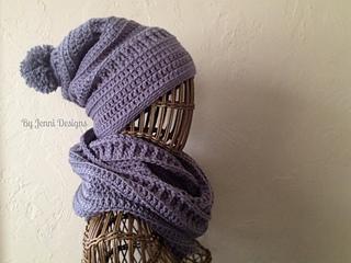 Ravelry  Slouchy Textured Beanie pattern by Jenni Catavu 07cf0986206