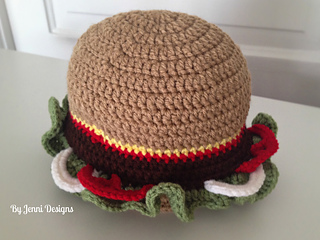 Ravelry  Hamburger Hat pattern by Jenni Catavu 2a7910c29232