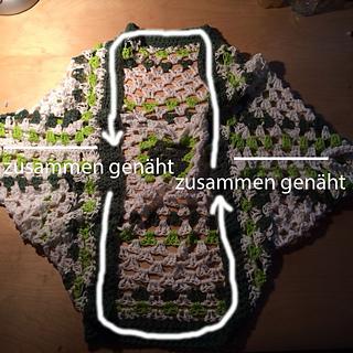 Ravelry Granny Square Seelenwärmer Pattern By Jenny Dammann