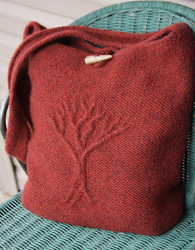 Ravelry Tree Of Life Felted Bag Pattern By Jenny Williams
