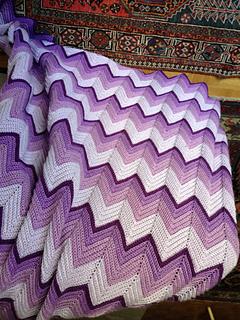 Ravelry Ripple Supreme Afghan Crochet Kit Pattern By Herrschners