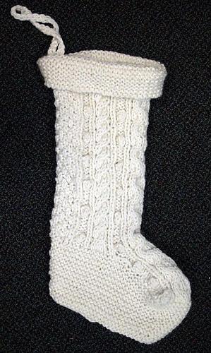 Knitting Websites Ireland : Ravelry irish knit christmas holiday stocking pattern by