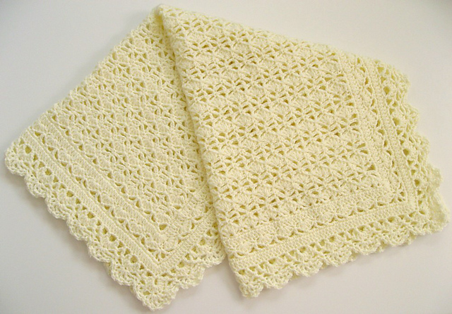 Ravelry Heirloom Lace Baby Afghan Pattern By Terry Kimbrough
