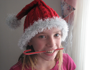 d702ac9271c Ravelry  Not-Just-for-Santa Hat pattern by Brittany Tyler Simmonds