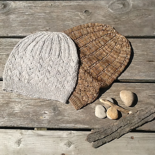 Ravelry  Stones on the Beach Hat pattern by Jennifer Knight eaec5ecb4fa