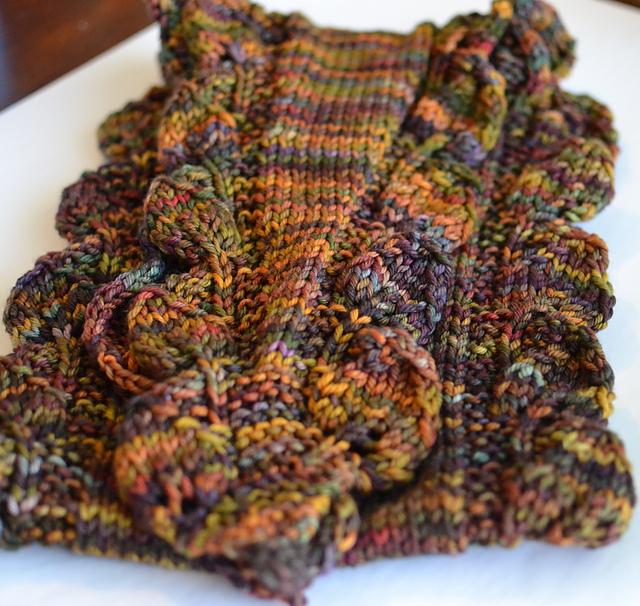 Ravelry: Double Leaf Saroyan pattern by Liz Abinante