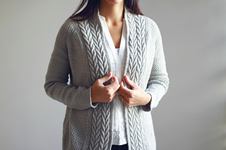 Earnest cardigan pattern by Joji Locatelli