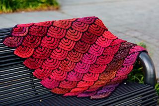 8f40653eae Ravelry  Dragon Wing Blanket pattern by Lijuan Jing