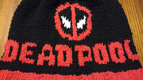 Ravelry Deadpool Beanie Pattern By Julie Laffoon