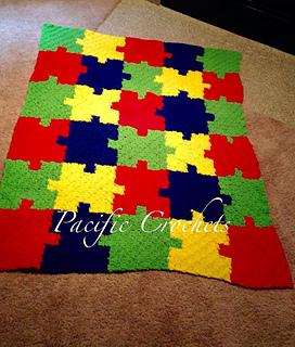 Ravelry Autism Puzzle Blanket Pattern By Jorden Morrison