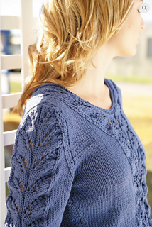 Lace Panel Sweater pattern by Jo Sharp