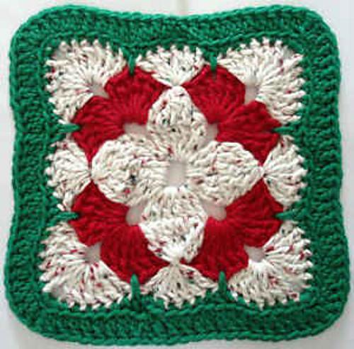 Ravelry Christmas Flower Dishcloth Pattern By Carol Showers