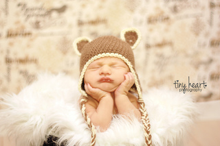 a5ecd8b4caa Ravelry  Little Bear Earflap Hat pattern by Janet Spirik