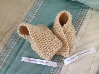 32b12020bbbf Ravelry  Fortune Cookie Baby Shoes pattern by Sheila Zachariae