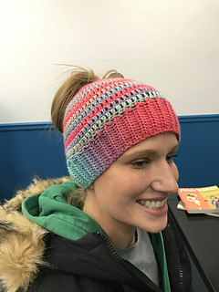 5419350484e05 Ravelry  It s All About the Messy Bun pattern by June Nemeth