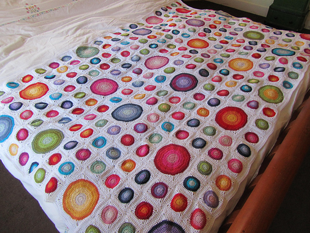 Ravelry Happy Colours Blanket Pattern By Just Do