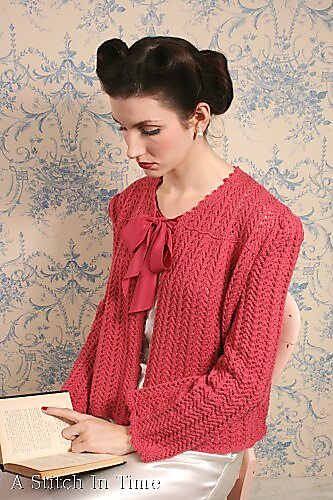 Ravelry Lacy Bed Jacket Pattern By Susan Crawford
