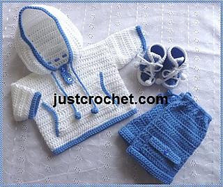 2a71cae54c38 Ravelry  Baby Crochet Pattern JC86NB pattern by Justcrochet Designs
