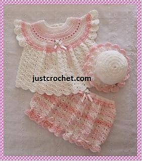 d1943e9b5f0a Ravelry  Baby Crochet Pattern JC114B pattern by Justcrochet Designs