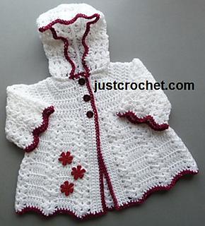 8ba9a15f3c0e Ravelry  Hooded Coat FJC17 Free Baby Crochet Pattern pattern by ...