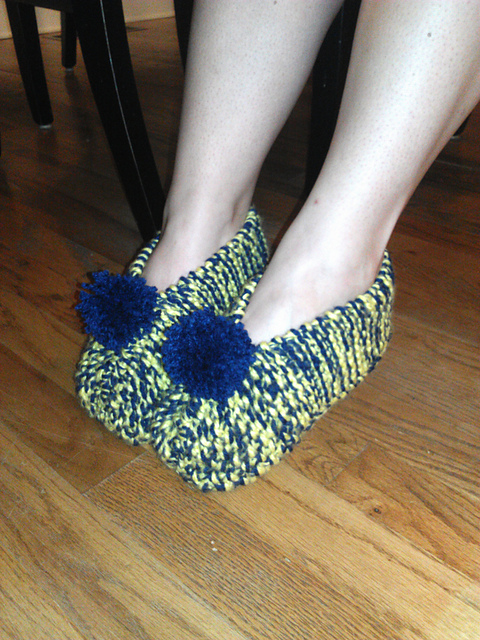 Knitted House Slippers Pattern Gallery Knitting Patterns Free Download