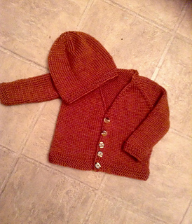 7a4040d7b Ravelry  Barclay Top-Down Baby Jacket pattern by marianna mel