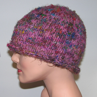 Ravelry: Basic Adults Rolled Brim Hat pattern by Jill Bujold