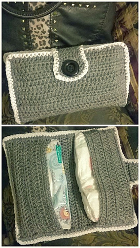 Ravelry Easy Diaper And Wipes Case Pattern By Kama Von Llama