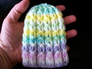Ravelry Mock Cable Baby Hat Pattern By Bonnie Brann