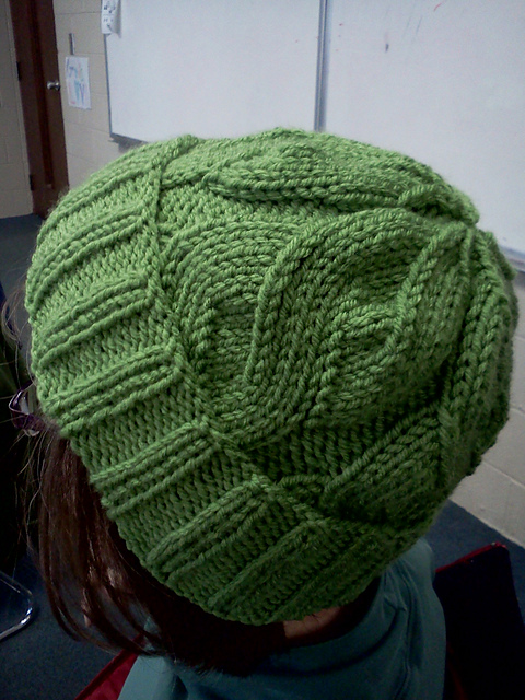 Ravelry The Able Cable Hat Pattern By Kari Steinetz