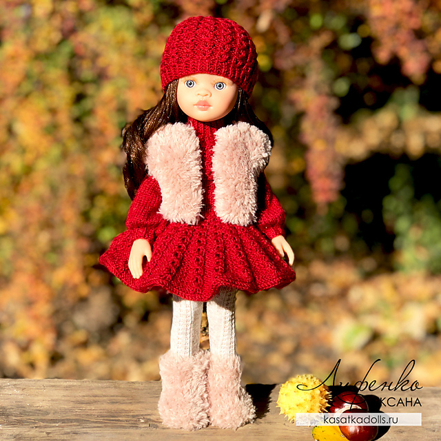 Indie Design Gift Along 2018 Toys Dolls Outfit to knit