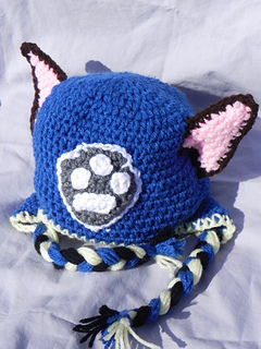 Paw Patrol Hat Chase and Marshall pattern by Katarina Page (Completely  Loopy Crochet) a421555b745
