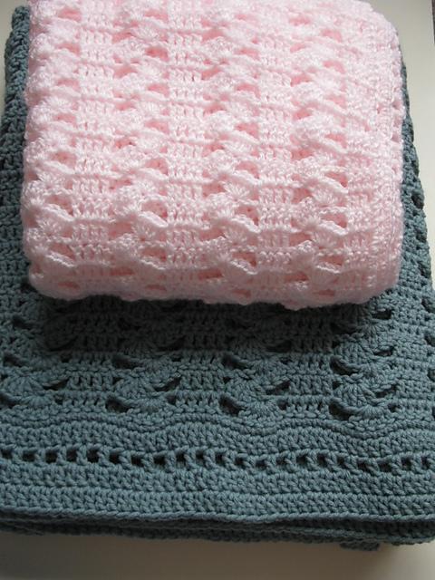 Ravelry Interlocking Shell Stitch Pattern By Kathie Sew Happy