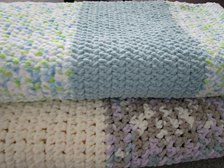 Bernat Blanket Yarn pattern by Kathie Sew Happy