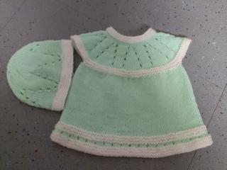 713b482e0 Ravelry  Lazy Daisy All-in-One Baby Dress pattern by marianna mel
