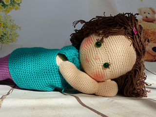 Ravelry Doll Lizzy Pattern By Kathrin Rabe