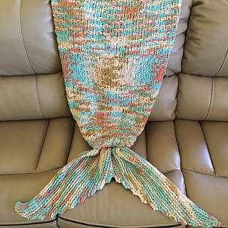 Ravelry Siren S Tail A Mermaid Blanket Pattern By Katie