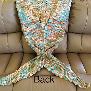 Ravelry Siren S Tail A Mermaid Blanket Pattern By Katie