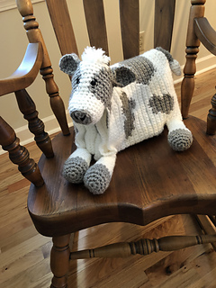 Ravelry Cuddle And Play Cow Baby Blanket Pattern By Aneta