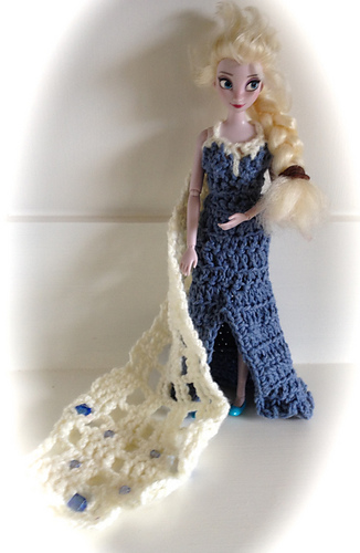 Ravelry Elsa S Snow Queen Dress Pattern By Claire Golden
