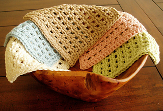Ravelry Waffle Crochet Dishcloth Pattern By Kate Alvis